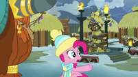 """Pinkie Pie """"sorry to interrupt Snilldar Fest"""" MLPBGE"""