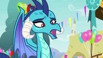 "Princess Ember ""you're making weird noises"" S7E15"