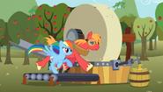 S02E15 Rainbow i Big Mac na bieżni