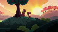 S05E17 Apple Bloom i Big Mac na wzgórzu