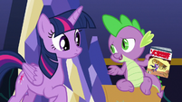 """Spike """"I don't need to take it"""" S9E26"""