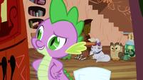 Spike 'of course' S03E11