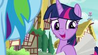 """Twilight Sparkle """"actually..."""" S8E20"""