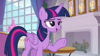 """Twilight Sparkle """"competitive in the past"""" S8E9"""