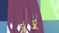 Chipmunks tearing curtains S5E3