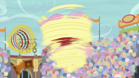 Fluttershy spins around at high-speed S9E6