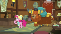 """Pinkie Pie """"how am I gonna figure out"""" MLPBGE"""