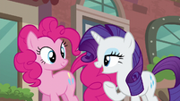 """Rarity """"I am off to scout possible locations for my new boutique!"""" S6E3"""