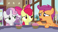 "Scootaloo ""my friends are in Ponyville"" S9E12"
