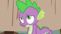 Spike's scales still don't glow S7E15