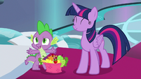 """Spike """"we would have forgot to celebrate"""" S8E7"""