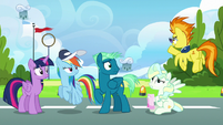 """Spitfire """"that cloud barely knew you were there!"""" S6E24"""