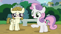 """Sweetie Belle """"what do you see?"""" S7E6"""
