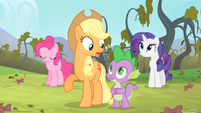 Applejack 'Only one way to find out for sure' S4E07