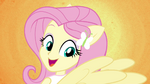 Fluttershy sprouts pony ears and wings EG2