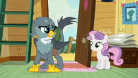 "Gabby ""griffons and cutie marks just don't mix"" S6E19"