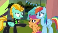 """Lightning """"your friend got me kicked out"""" S8E20"""