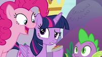 "Pinkie ""terrifying level of responsibility"" S9E13"