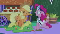 """Pinkie Pie """"I ate the food, too!"""" S9E17"""