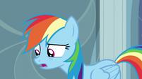 "Rainbow ""You can't hiber–"" S5E5"