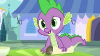 """Spike """"the princess asked me"""" S5E10"""
