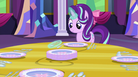 Starlight putting the last spoon on the table S06E06
