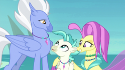 Terramar with his supportive parents S8E6