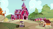 Alternate exterior view of Sweet Apple Acres S8E10
