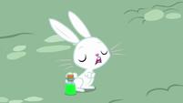 Angel Bunny burping loudly S9E18