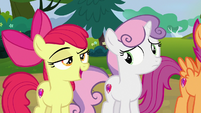 Apple Bloom -Rumble isn't afraid of bein' put in a box- S7E21