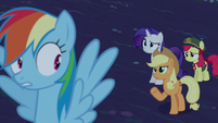 Applejack --'any minute now' what--- S6E15
