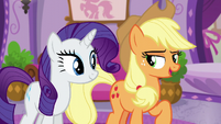 Applejack --ready for some serious relaxation-- S6E10