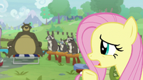 """Fluttershy """"would anyprey like to respond?"""" S9E18"""