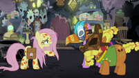 Fluttershy calling Cattail -Dogtail- S7E20