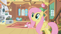 Fluttershy doesn't know what to do S01E22