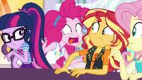 """Pinkie Pie """"did I miss it?!"""" EGROF"""