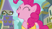 """Pinkie Pie singing """"trust your heart"""" S6E12"""