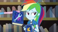 Pinkie presents book on magical portal maintenance EG3