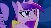 Princess Cadance noticing something S2E26