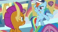"""Rainbow """"this is the stuff you need"""" S9E15"""