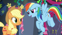 """Rainbow Dash """"I'd love to tell you"""" S6E7"""