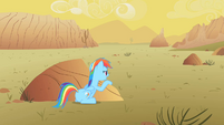 Rainbow Dash --I'm trying to save Spike!-- S1E21