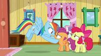 Rainbow Dash -no way!- S9E12
