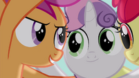 """Scootaloo """"they won't be able to laugh at us"""" S4E15"""