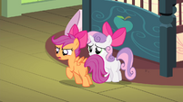 Scootaloo -get in while I hide!- S4E17