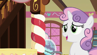"Sweetie Belle ""took longer than I thought"" S8E12"