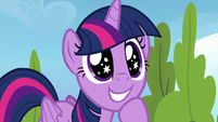 Twilight excited about the classroom portion S6E24