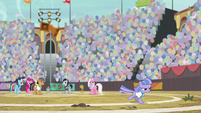 Wind Sprint running away in anger S9E6