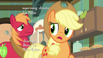 "Applejack ""you have any idea, Big Mac?"" S7E13"