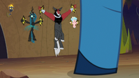 Chrysalis, Tirek, and Cozy under Grogar's thrall S9E8